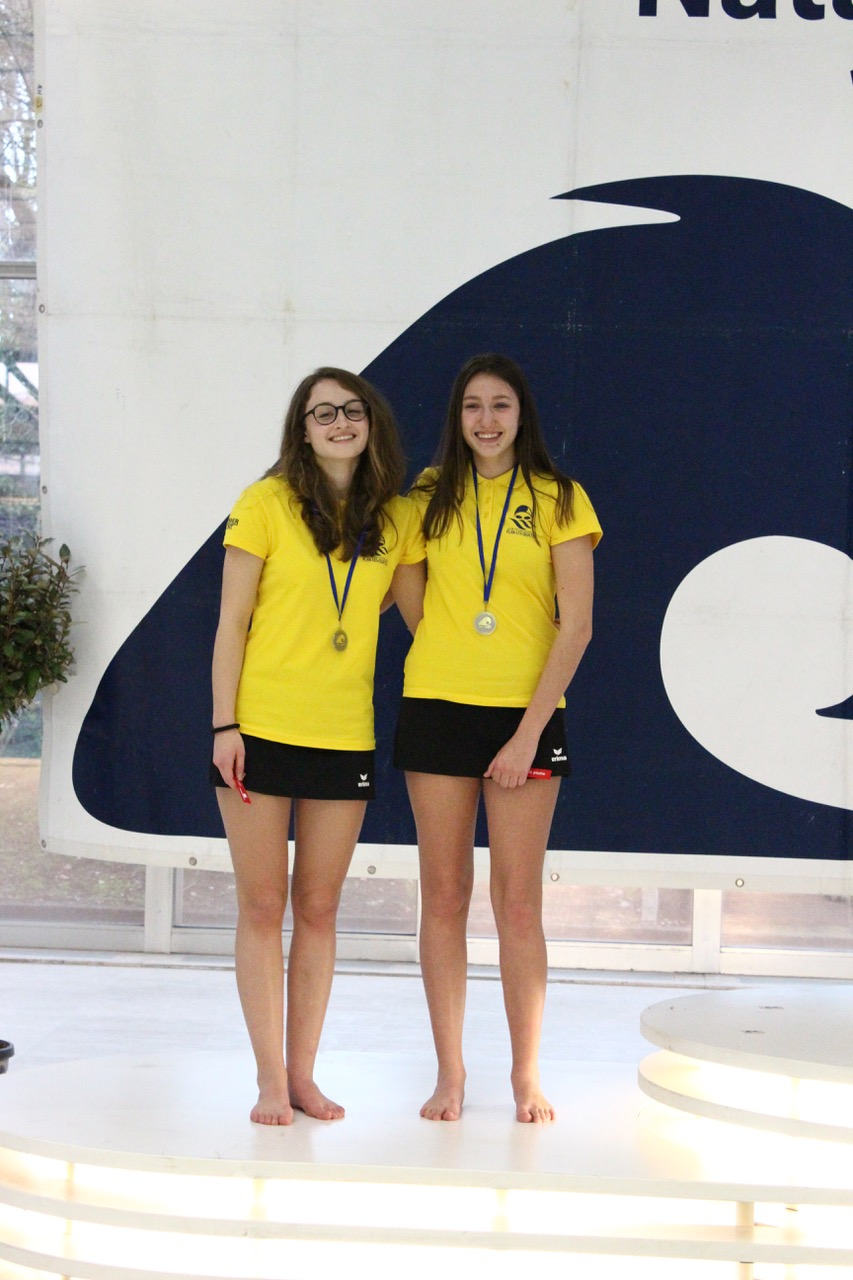 Aquacup 2018 - podium duo U19